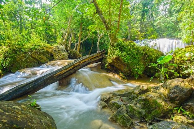 Cascada de erawan en kanchanaburi