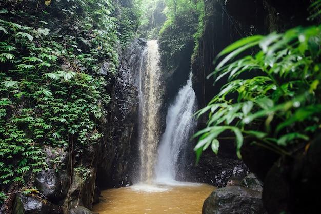 Cascada de gitgit en bali, indonesia