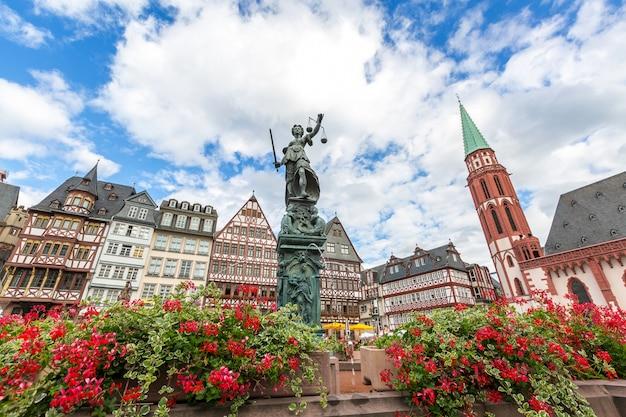 El casco antiguo de frankfurt