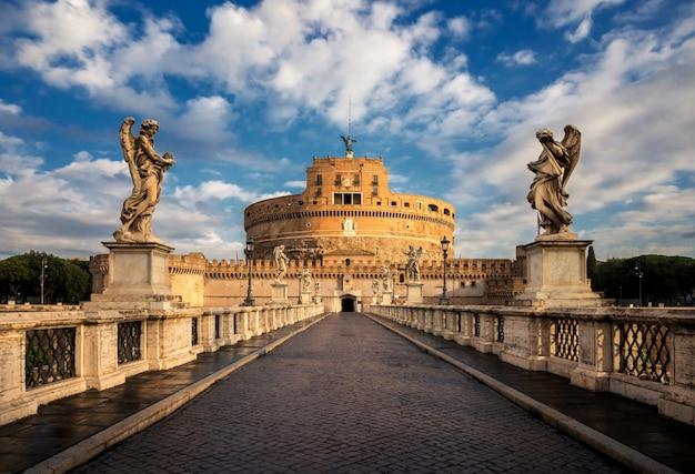 Castel sant angelo en roma, italia