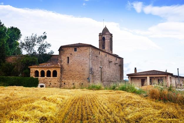 Castell de pubol. cataluña, españa