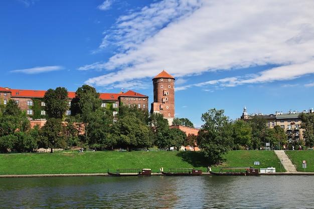 El castillo de cracovia, polonia.