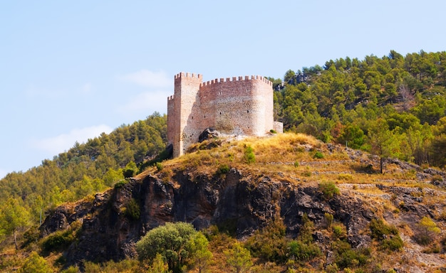 Castillo en gaibiel. comunidad valenciana
