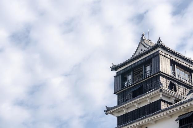 Castillo de kumamoto, kumamoto en la prefectura de kumamoto