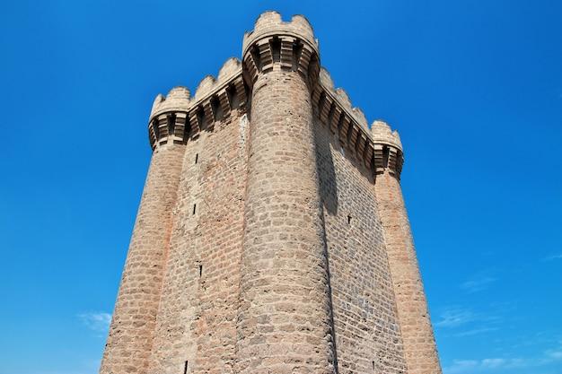 Castillo mardakan en azerbaiyán, península absheron