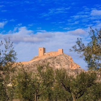 Castillo de pueblo saxofonense en españa