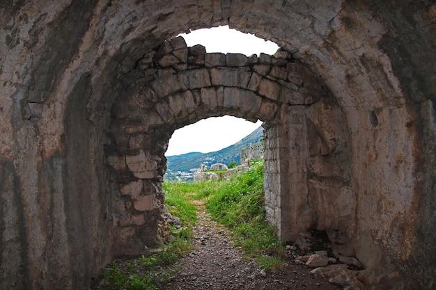 Castillo de shkodra en albania, los balcanes