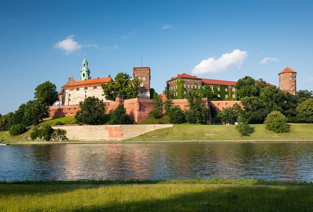 Castillo de wawel, cracovia, polonia