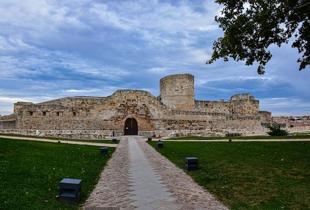 Castillo de zamora en españa