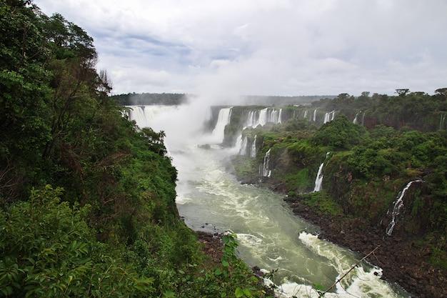 Cataratas del iguazú en argentina