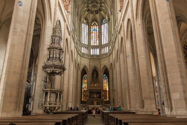 Catedral cerca de kutna hora