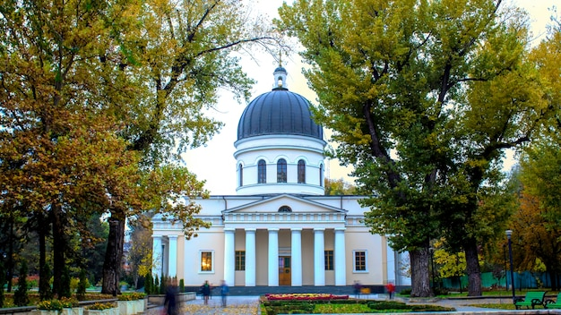 Catedral de la natividad central en chisinau, moldavia