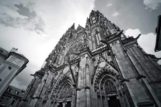 Catedral de san vito en praga.