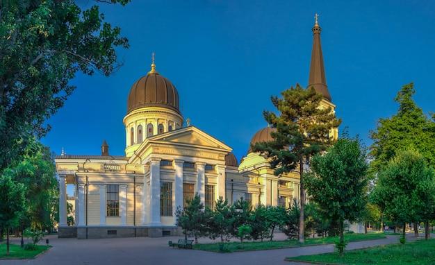 Catedral de la transfiguración en odessa, ucrania