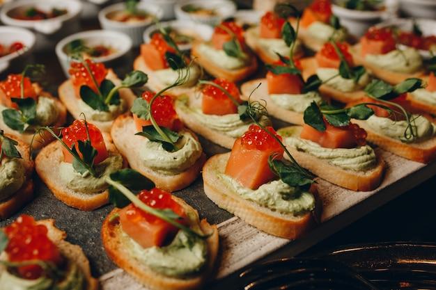 Catering comida para fiestas