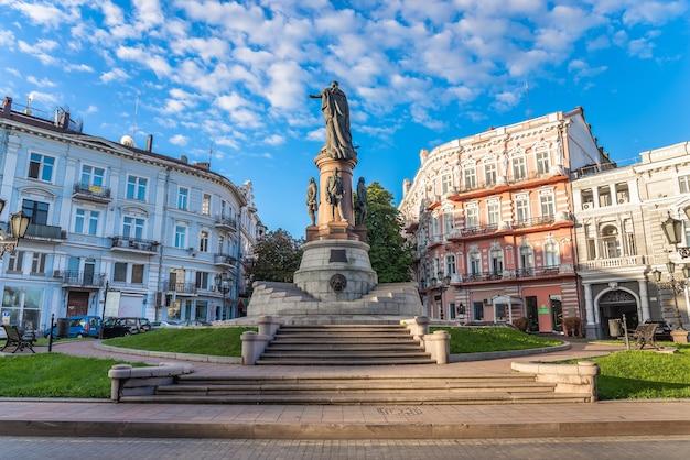 Catherine the great square en odessa ucrania