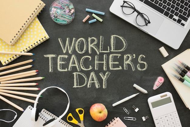 Celebración del día mundial del maestro