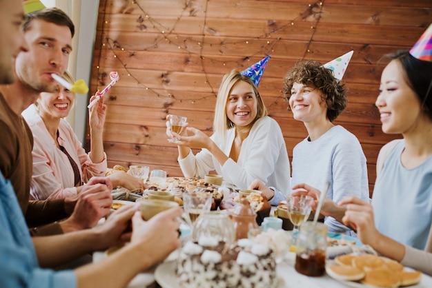 Celebrando cumpleaños