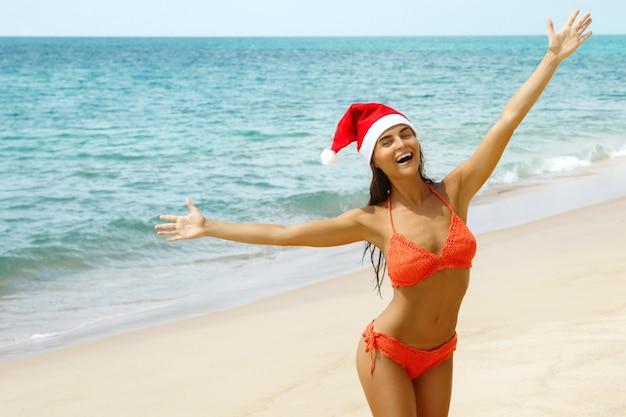 Celebremos la navidad en la playa