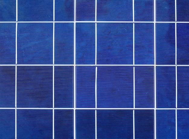 Célula solar de cerca