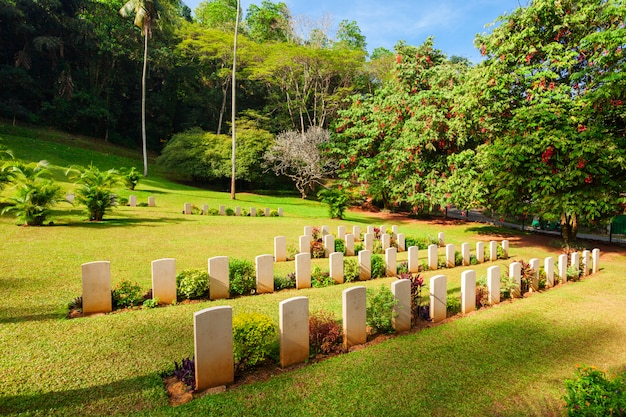 Cementerio de la guerra mundial de kandy