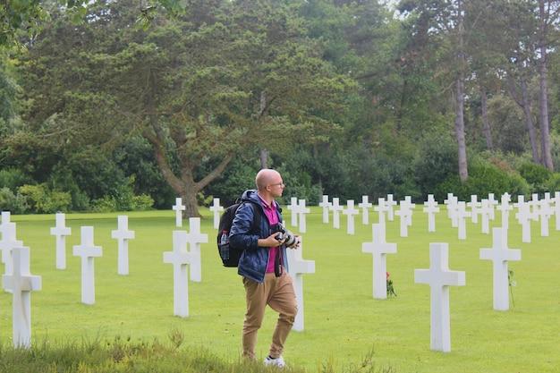 Cementerio militar estadounidense en colleville