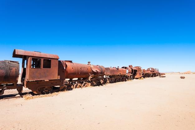 Cementerio de trenes, bolivia