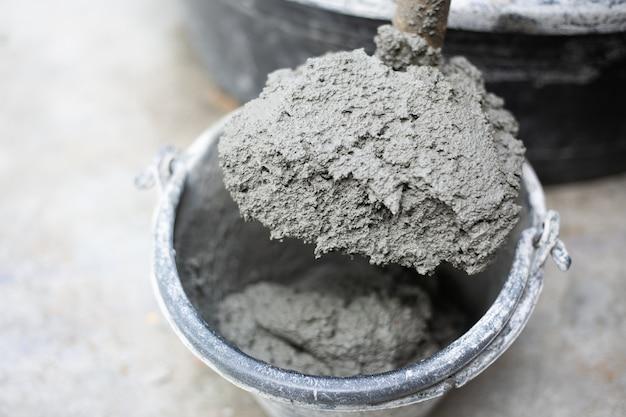 Cemento o mortero