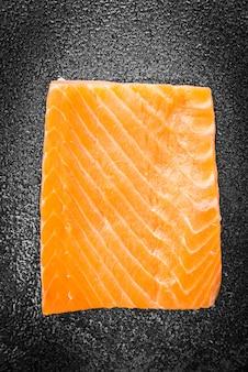 Cena filtro cruda harina de salmón