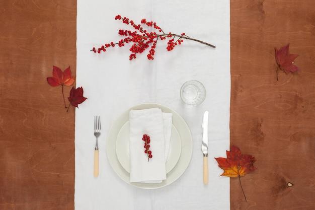 Cena de otoño