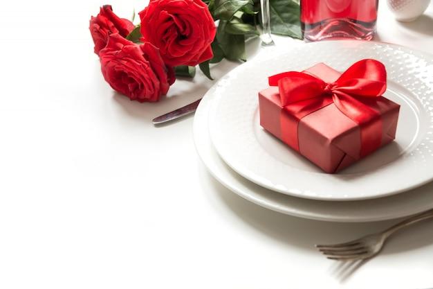 Cena de san valentín o cumpleaños.