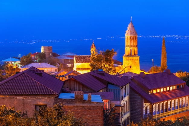 Centro de la ciudad de sighnaghi