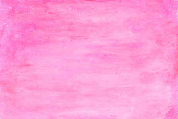Cepillo de pintura rosa rojo abstracto con textura para el fondo.