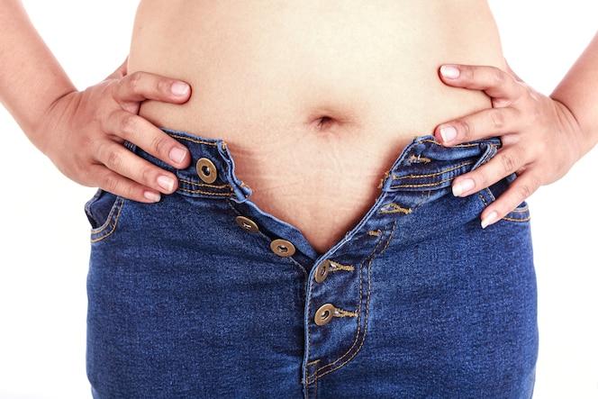 cerca mujer grasa