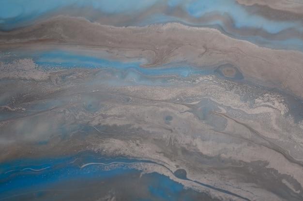 Cerca de la hermosa textura de mármol azul