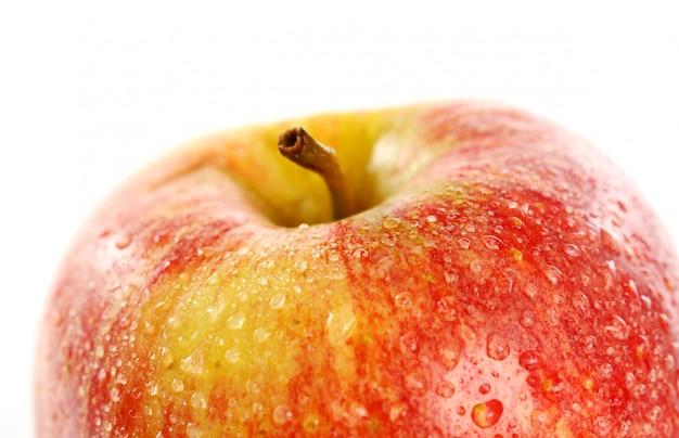 Cerca de manzana fresca