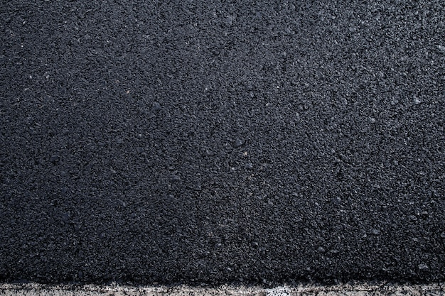 Cerca de la textura de la carretera de asfalto