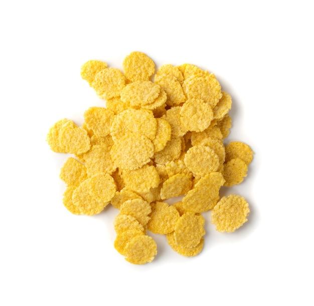 Cereal de maíz amarillo aislado