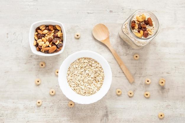 Cereales y semillas saludables
