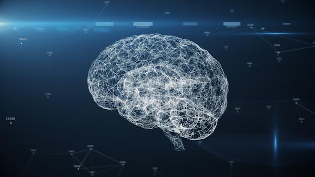 Cerebro digital inteligencia artificial