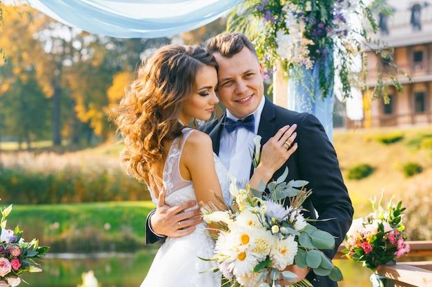Ceremonia de boda con estilo creativo