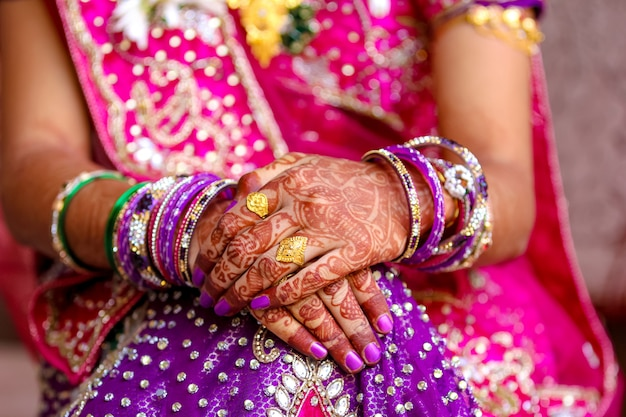Ceremonia de boda maharashtra en el hinduismo