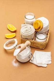 Cero desperdicio de productos de limpieza del hogar
