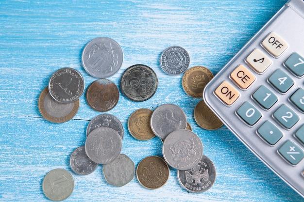 Cerrar calculadora e informe financiero - concepto contable