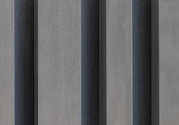 Cerrar muro de hormigón con detalles