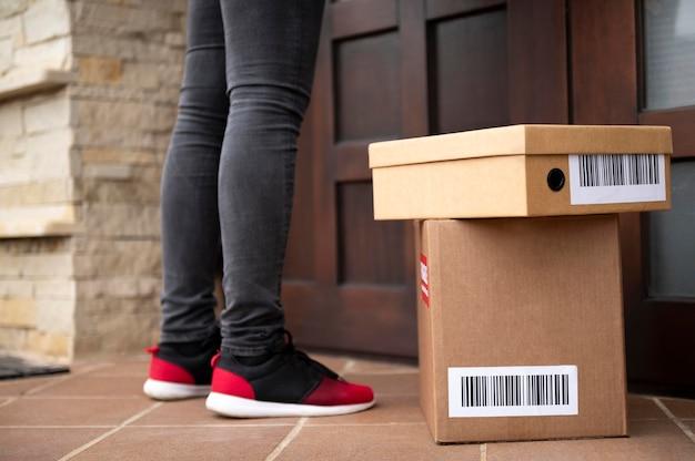 Cerrar repartidor con cajas