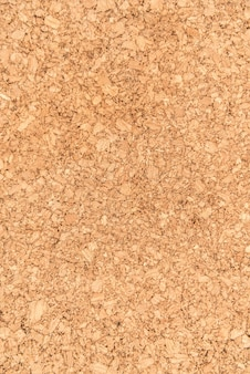 Cerrar la superficie y la textura de la superficie de madera de tablero de corcho, producto natural industrial