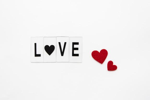 Cerrar el texto del concepto de amor