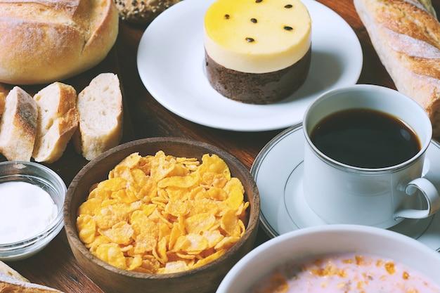 Cerrar vista de desayuno continental