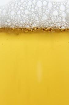 Cerveza, primer plano, burbuja, cerveza